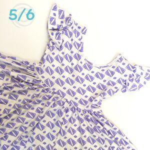 DDS Dot Dot Smile Empire 5/6 Purple Triangles